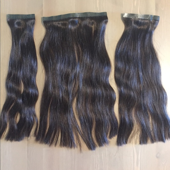 Zala Other Seamless 16 Inch Clip In Hair Extensions Poshmark